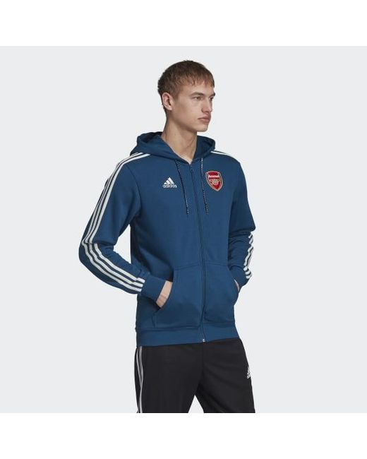 adidas Arsenal adidas Z.N.E. Hoodie Blue | adidas US