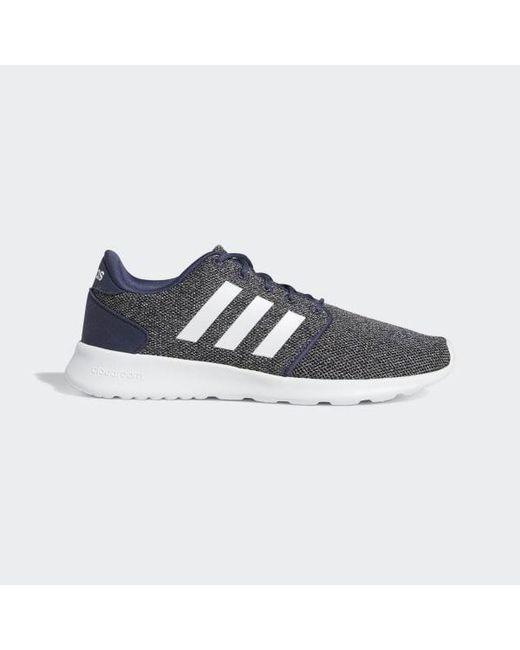 87510be61f9f5 Adidas - Blue Cloudfoam Qt Racer Shoes for Men - Lyst ...