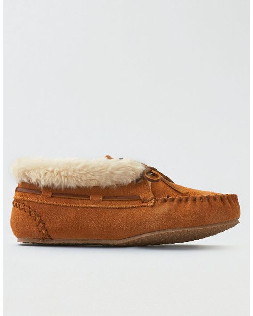 American Eagle - Brown Minnetonka Chrissy Boot - Lyst