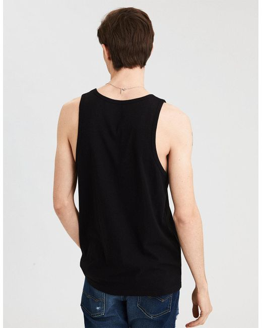 American Eagle - Black Ae Pride Graphic Tank - Lyst