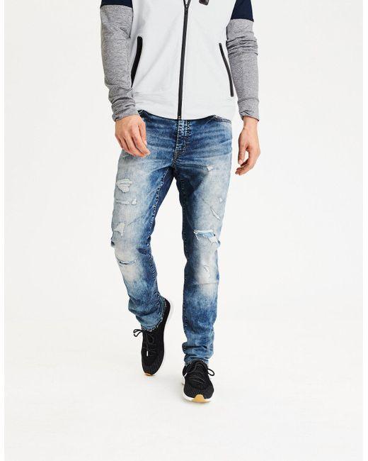 American Eagle | Blue Ae Extreme Flex Slim Jean for Men | Lyst