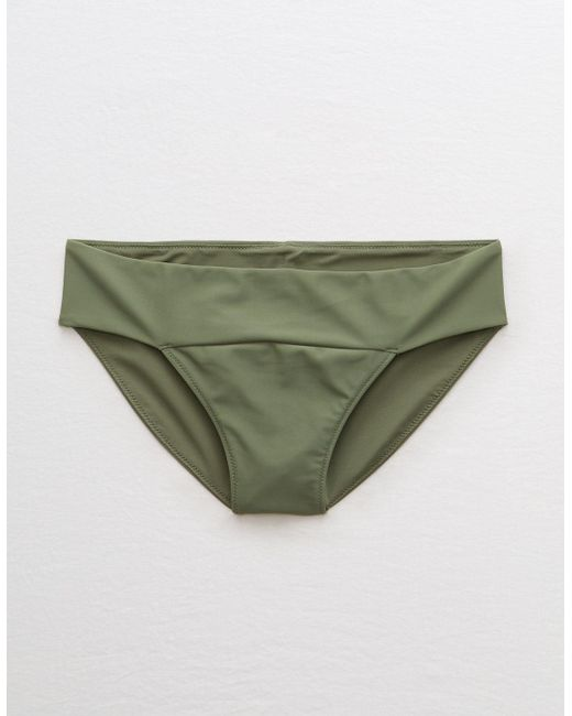 American Eagle Green Bikini Bottom