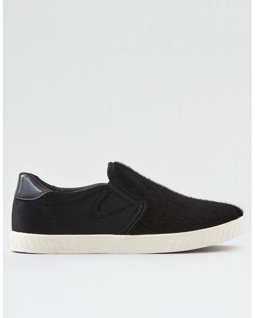 American Eagle - Black Tretorn Cruz Shearling Sneaker - Lyst