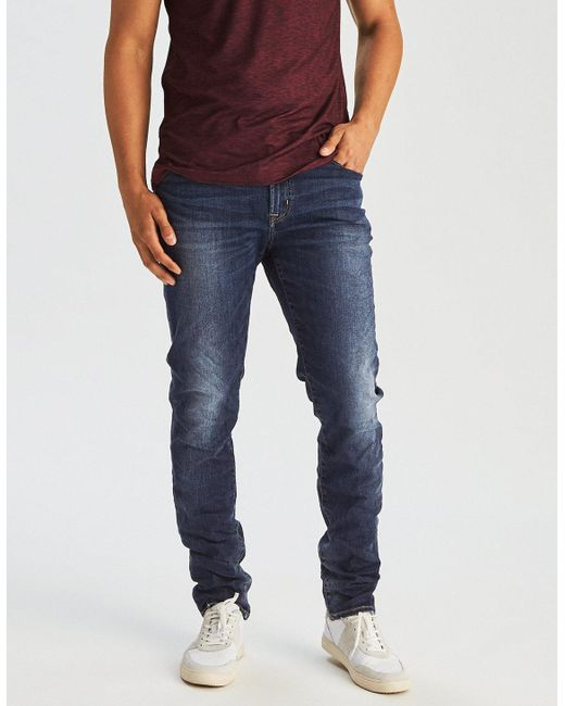 American Eagle - Blue Ae Ne(x)t Level Slim Jean for Men - Lyst