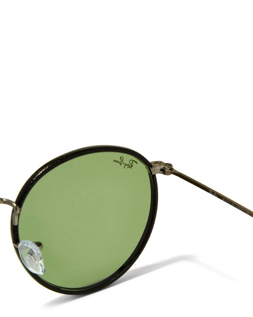 008c7c1f7a Ray Ban Round Leather Sunglasses « Heritage Malta