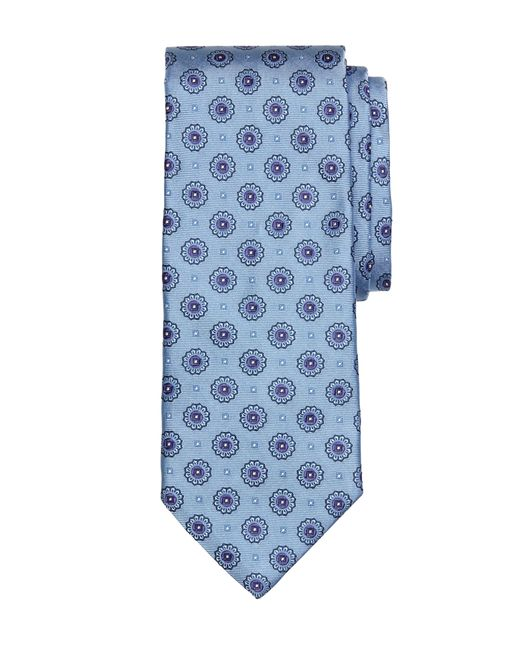 Brooks Brothers | Blue Spaced Medallion Tie for Men | Lyst