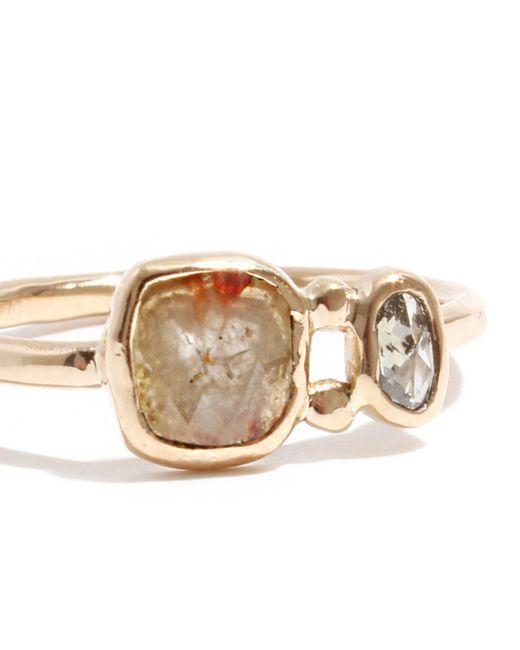 Melissa Joy Manning | Metallic Double Diamond Ring | Lyst