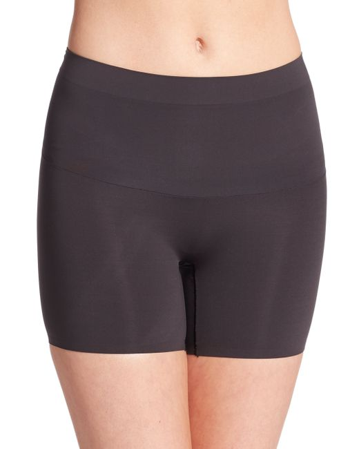 Spanx | Black Shape My Day Girl Shorts | Lyst