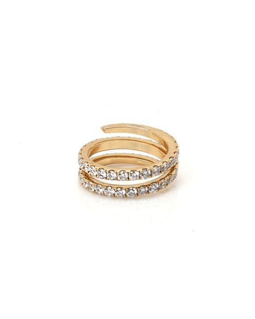 Anita Ko   Yellow Gold Pinky Coil Ring   Lyst