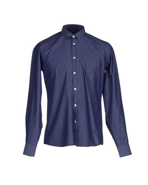 Billtornade   Blue Shirt for Men   Lyst