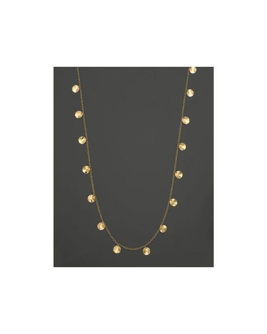 "Ippolita | Metallic 18k Yellow Gold Paillette Necklace, 33"" | Lyst"