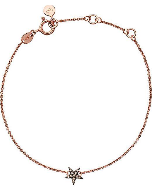 Links of London   Pink Diamond Essentials Star Bracelet   Lyst