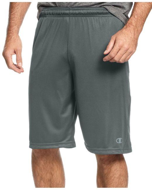 Champion | Gray Men's Vapor Powertrain Shorts for Men | Lyst