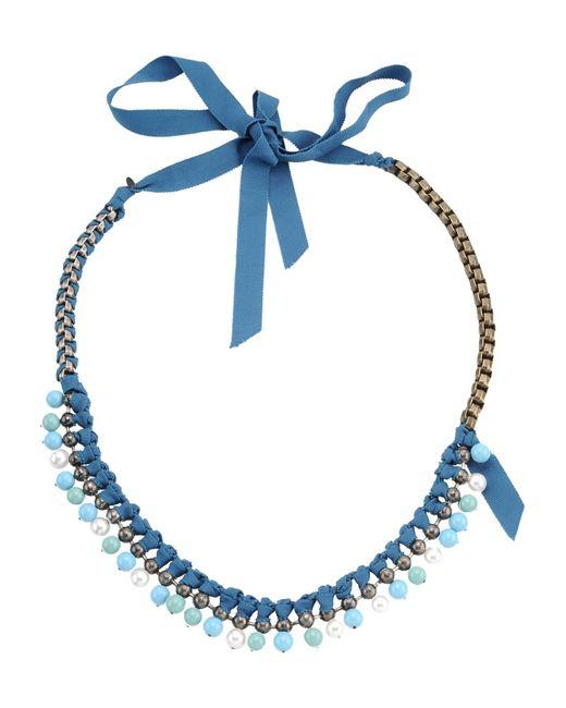Lanvin | Blue Necklace | Lyst