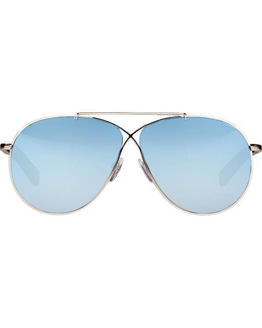 Tom ford Eva Sunglasses in Blue Lyst