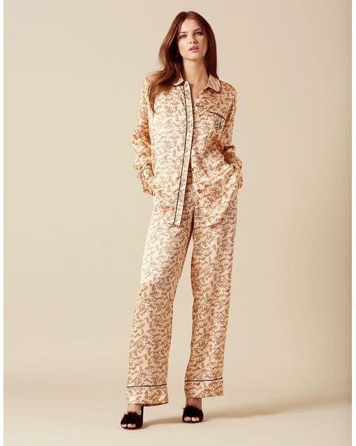 Agent Provocateur - Catalyna Pyjama Bottom Pink - Lyst