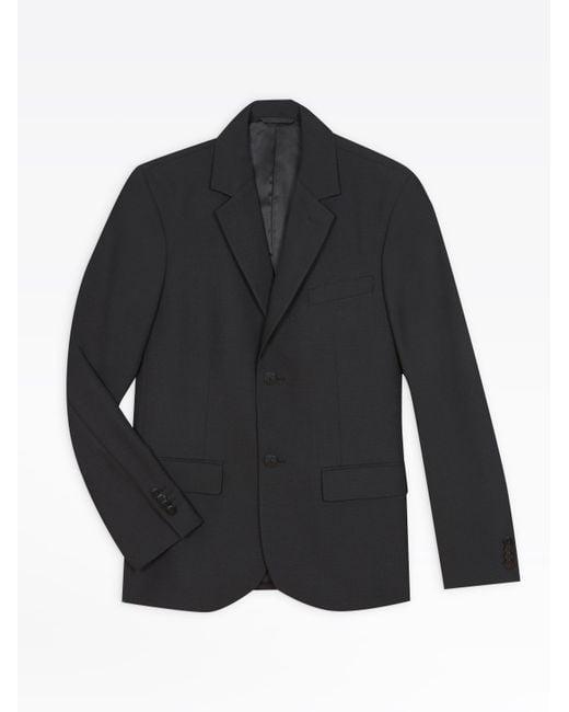 Agnes B. Black Jacket Domino for men