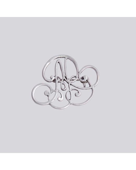 Agnes B. | Metallic Silver Ab Brooch | Lyst