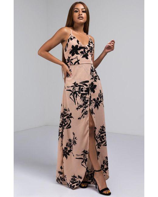 Akira - Purple Honolulu Here I Come Floral Maxi Dress - Lyst