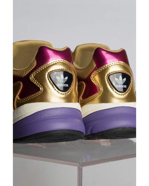 best sneakers 3fd3d d6607 ... Adidas - Metallic Womens Falcon Sneaker - Lyst