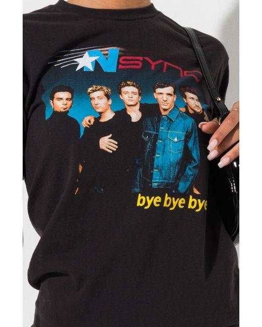 715451835 ... Akira - Black Nsync Bye Bye Bye Tour Graphic Shirt - Lyst ...