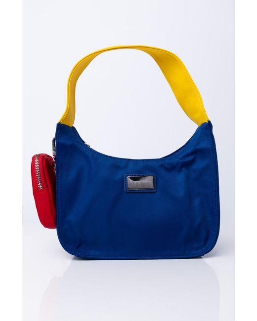 Akira Blue Primary Colors Shoulder Bag