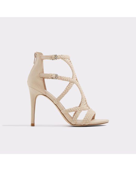 ALDO UNACLYA - High heeled sandals - natural