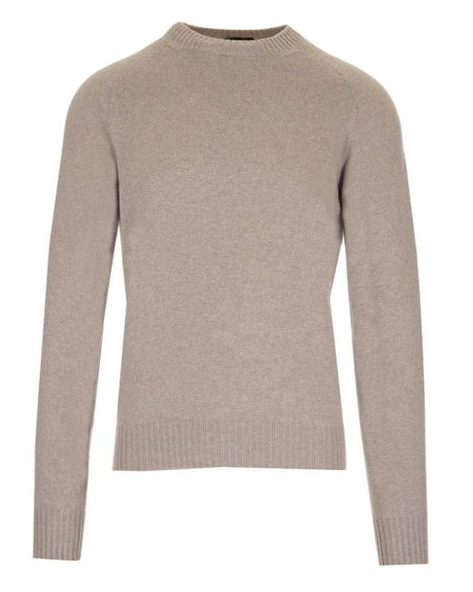 Tom Ford Natural Cotton And Cashmere Sweater for men