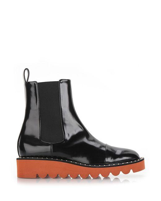 Stella McCartney | Black 'odette' Ankle Boots | Lyst
