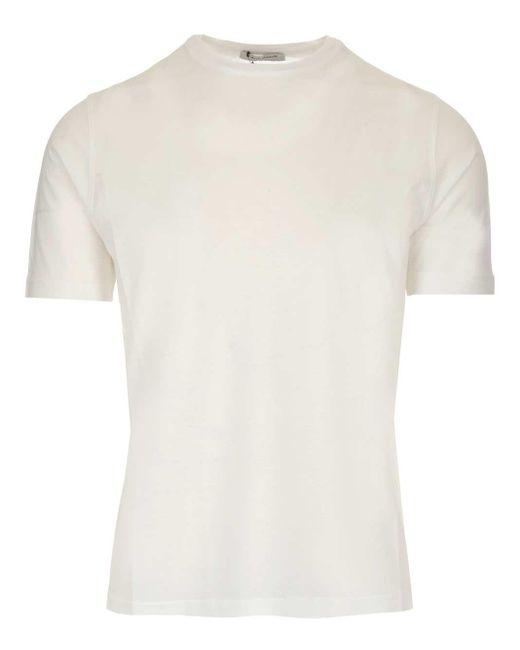 Al Duca D'aosta White Crewneck T-shirt