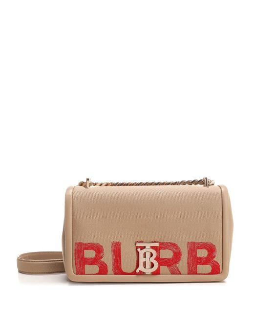 "Burberry Natural ""lola"" Small Shoulder Bag"