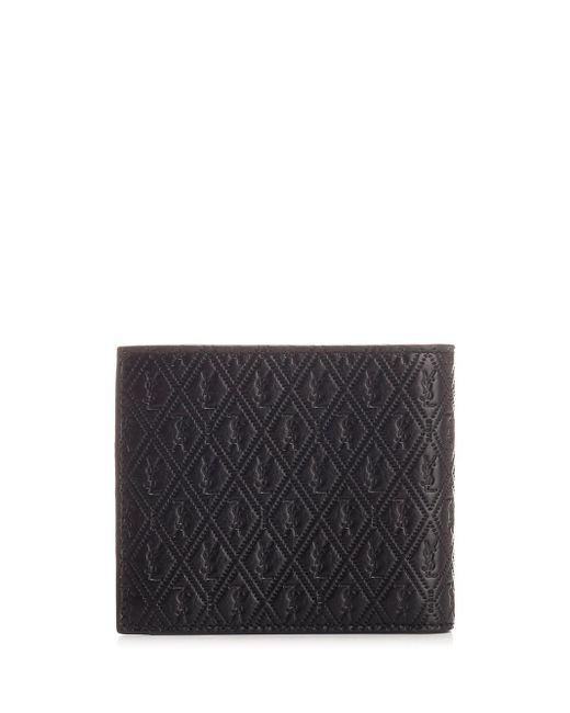 Saint Laurent Black Leather Wallet
