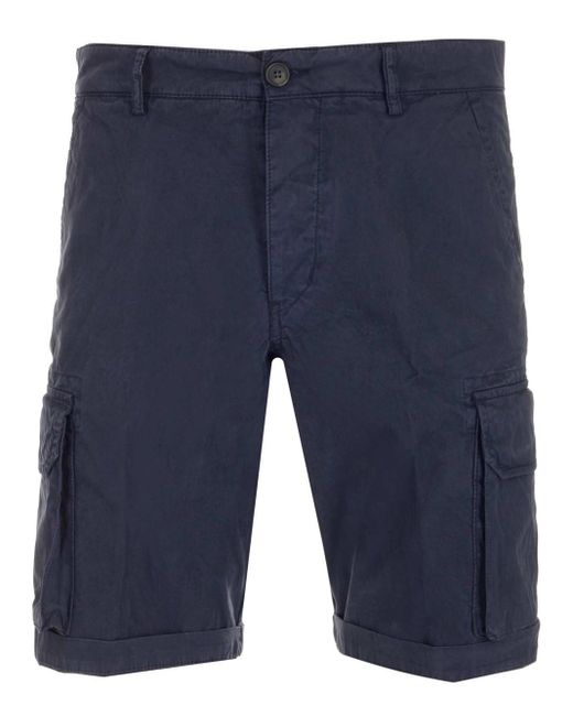 Al Duca D'aosta Blue Shorts for men