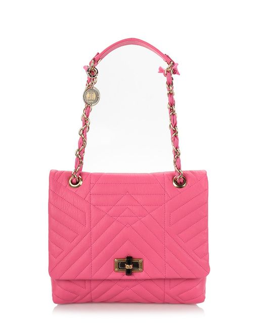 Lanvin | Pink Medium 'happy' Shoulder Bag | Lyst