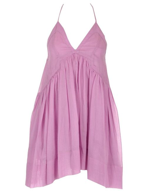 "Isabel Marant Pink ""kitou"" Cotton Dress"