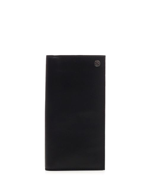 Ermenegildo Zegna Black Leather Wallet
