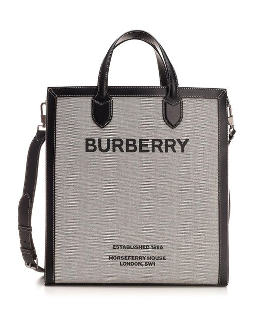 Burberry Black Tote Bag for men