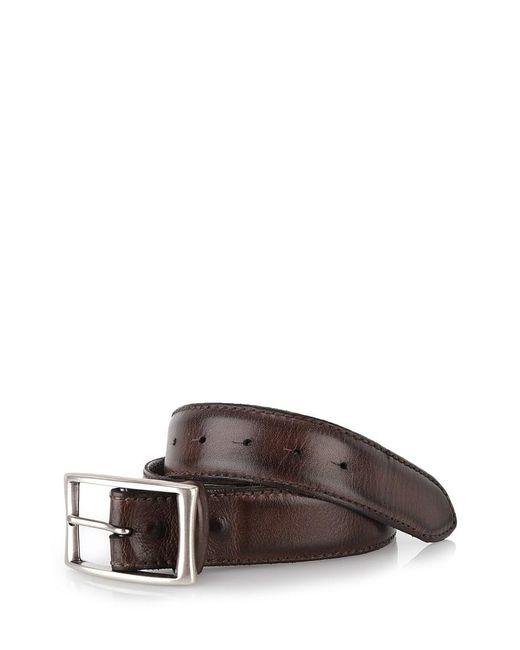 Al Duca D'aosta   Brown Leather Belt for Men   Lyst