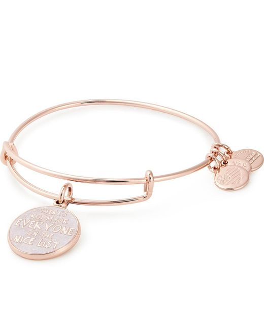 ALEX AND ANI Multicolor There's Room For Everyone On The Nice List Charm Bangle