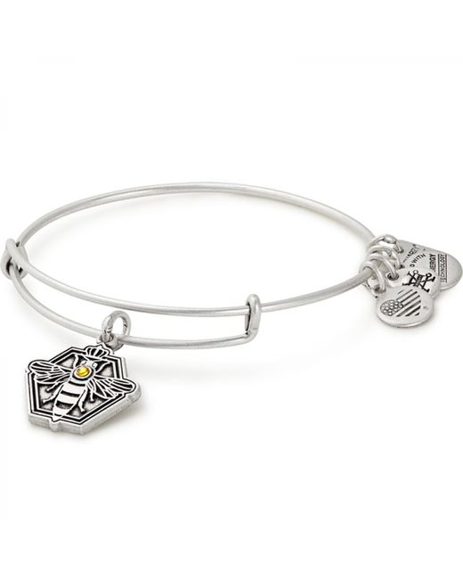 ALEX AND ANI - Metallic Queen Bee Charm Bangle Habitat For Humanity - Lyst