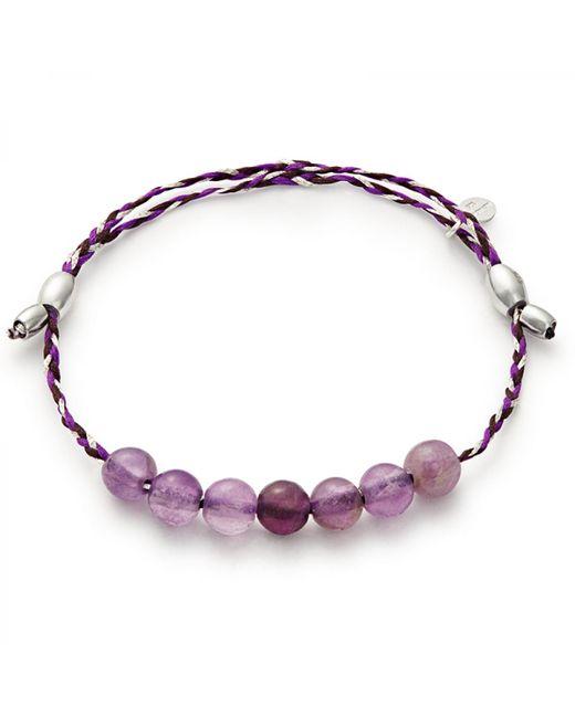 ALEX AND ANI - Metallic Sodalite Precious Threads Bracelet - Lyst
