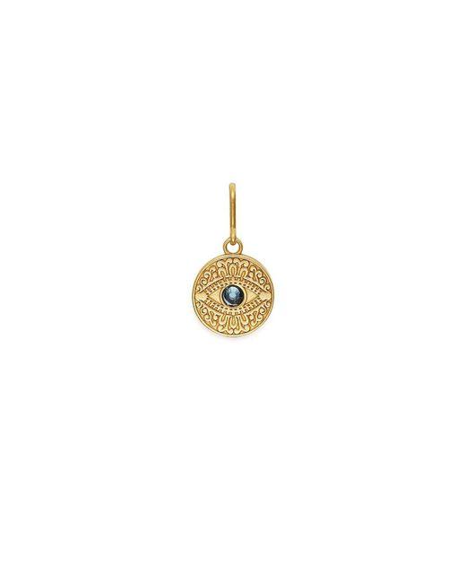 ALEX AND ANI Metallic Evil Eye Necklace Charm