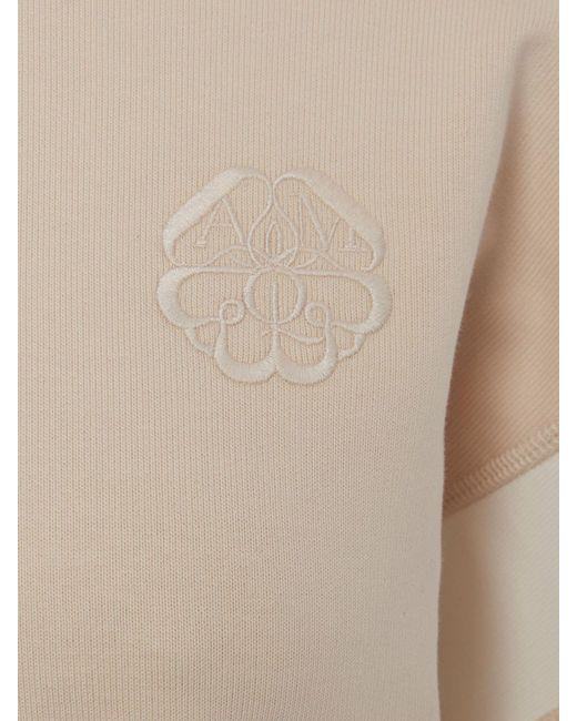 Alexander McQueen Patchwork Sweatshirt White