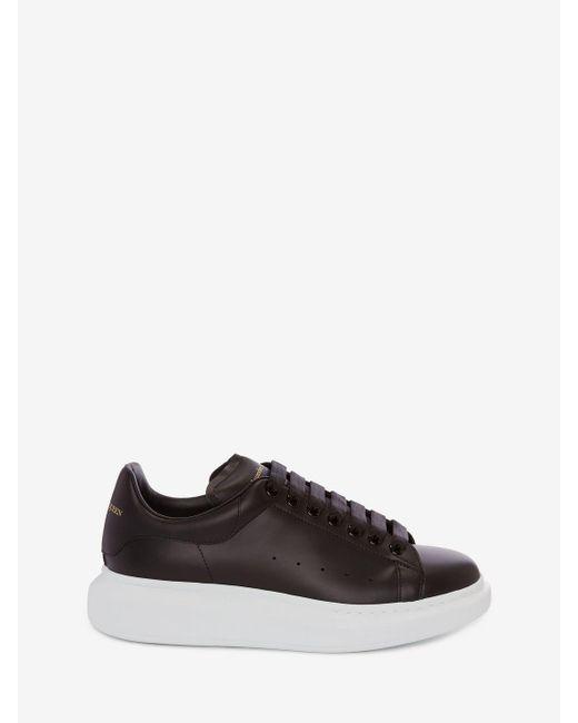 Baskets oversize Alexander McQueen pour homme en coloris Black
