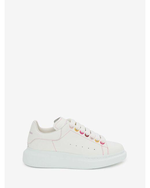 Alexander McQueen Oversized Sneaker White