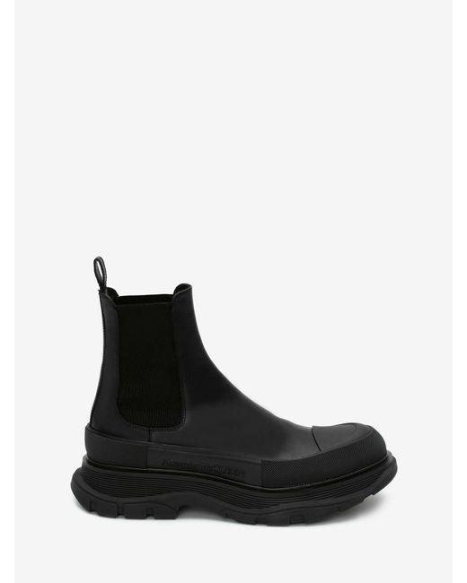 メンズ Alexander McQueen Tread Slick Boot Black