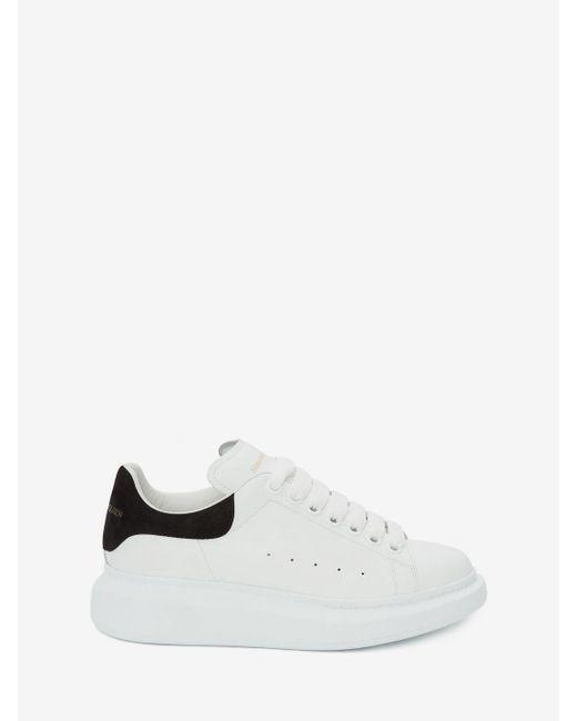Alexander McQueen White Oversized Sneaker