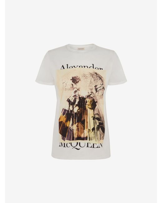 Alexander McQueen トロンプルイユ Tシャツ White