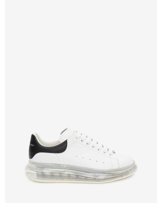 Oversized Sneaker Alexander McQueen en coloris White