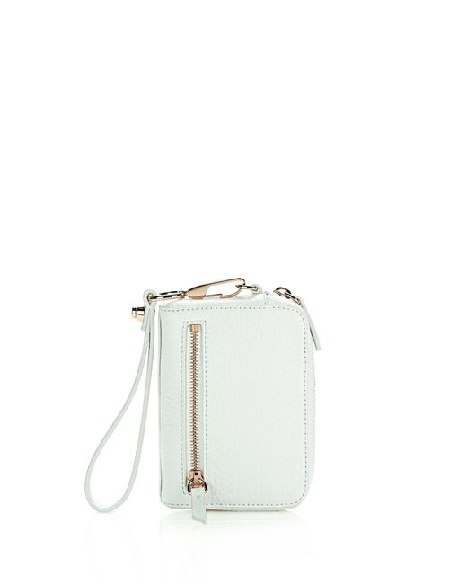 Alexander Wang | White Large Fumo In Soft Pebbled Peroxide With Rose Gold | Lyst